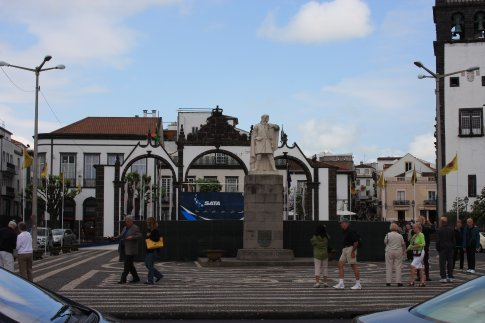 Gates to the city, San Miguel, Ponta Delgada
