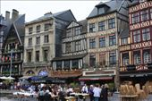 Main square in Rouen, France, where Joan of Arc was guest of honor at a barbecue.: by anijensen, Views[750]