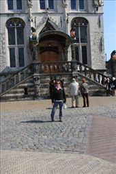 Anita in front of City Hall, Gouda, The Netherlands: by anijensen, Views[229]
