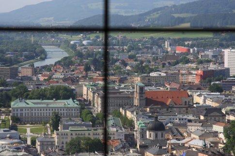 View from Hohensalzburg