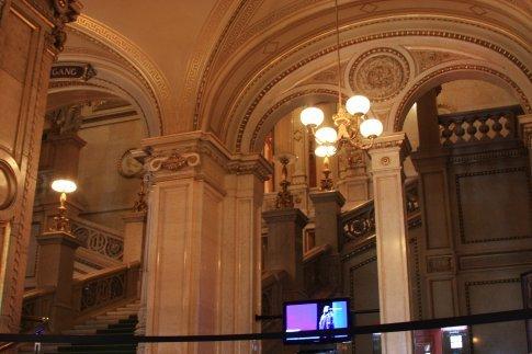 Vienna Opera House foyer staircase