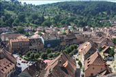 Rooftops over Sighisoara, the reputed bithplace of Vlad the Impaler.: by anijensen, Views[169]