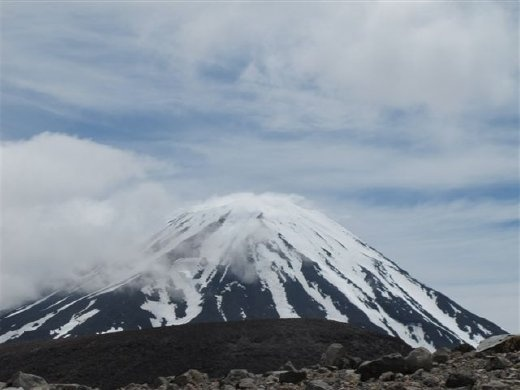 Mount Ngauruhoe, used for Mount Doom in the Lord of the Rings movies.