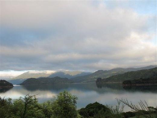 Kenepuru Sound, as seen from the Queen Charlotte Track