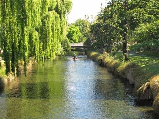 The River Avon in Christchurch