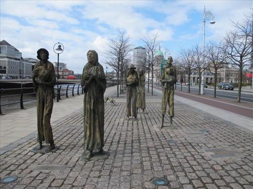 Famine memorial, Dublin