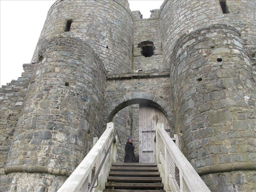 We thought Harlech had the most proper castle entrance!