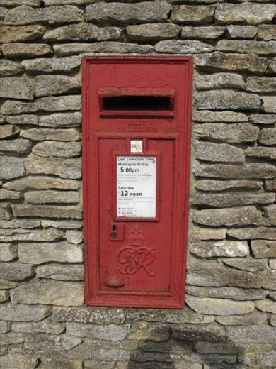 George VI mailbox