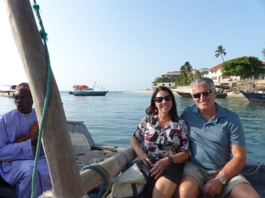 Sunset cruise in a fishing dhow, Dar Es Salaam