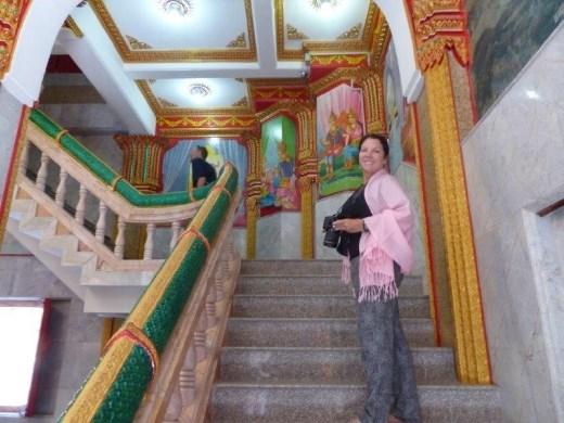 Inside a temple, Phuket