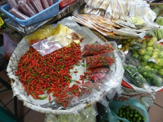 Chilies and limes are cooking staples in this part of the world.