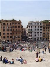 View down Via del Corso on a Saturday morning!: by anna, Views[518]