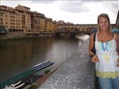 View down the Florence River towards the Ponte Vecchio: by anna, Views[410]