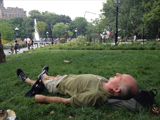 Down and out in Washington Square
