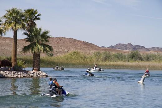 Fisher's Landing, Colorado River on the outskirts of Yuma, Arizona