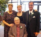 Bobbie, Ann, Jim w father, Harold Iverson: by annanderson, Views[334]