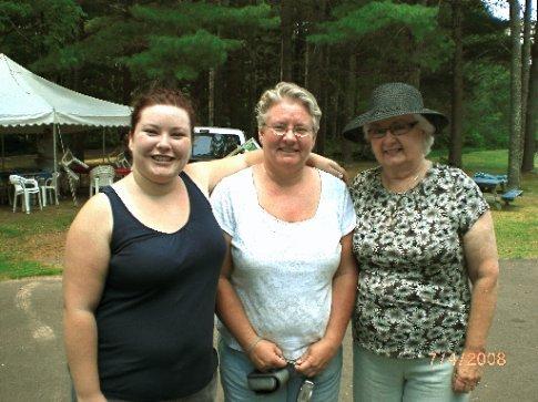 Alicia, Cheryl, Joanne