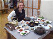 Korean 'typical' meal: by annanderson, Views[576]
