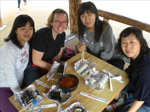 lunch with teachers