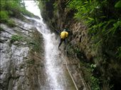 Kirst abseiling quite skillfully even in slippery sandals!: by annanderson, Views[982]