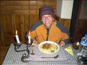 Kirst with our yak cheese/chicken dinner: by annanderson, Views[543]