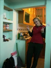 Kirst in our new kitchen: by annanderson, Views[587]