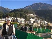 view of McLeod Ganj from our hotel balcony: by annanderson, Views[535]