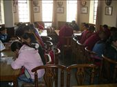 About 70 students & families joined us for brownies & tea to celebrate our Thanksgiving!: by annanderson, Views[374]