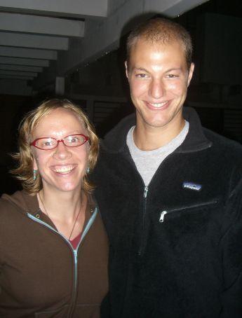 Kirst & her friend, Jake