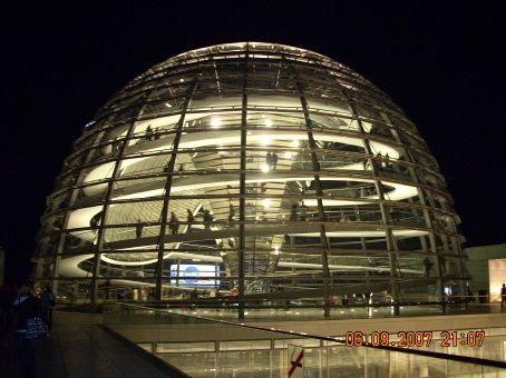 the reichstag dome a famous parlimentary building that once had shopping stores and a. Black Bedroom Furniture Sets. Home Design Ideas