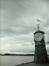 Oslo's lake watch -- Calm and peaceful while the clouds move around: by annavik, Views[108]