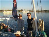 Will and Simon on the Felucca: by annekebroadbent, Views[261]