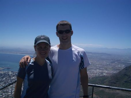 we climbed Table Mountain (on probably the hottest day of the year!)