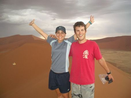 We made it to the top opf dune 45