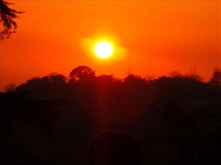 sunset daramsala, wow