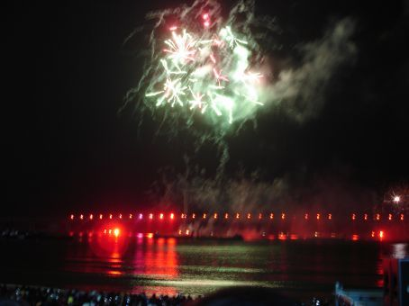 2nd Busan APEC fireworks - beat Midsummer Common ones in a flash