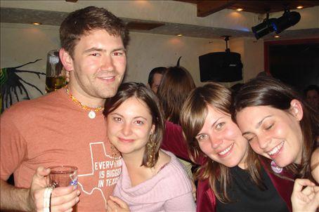 Jake, Abi, Courtney and Melody @ Crossroads