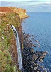 Kilt Rock falls: by antiquefx, Views[152]