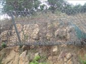 Massive iron nets prevent rock fall. : by antyram, Views[321]