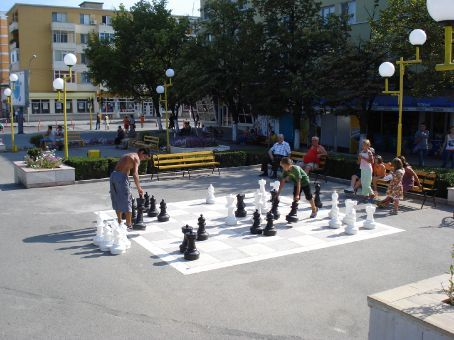 I love these full size chess boards