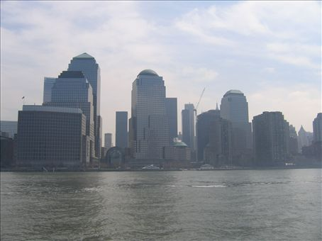 Former site of the Twin Towers