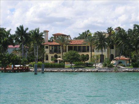 Ricky Martin's mansion.