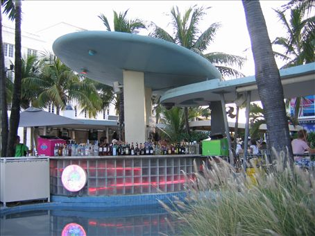 The Clevelander outdoor bar where Timmy did some of his very best work.
