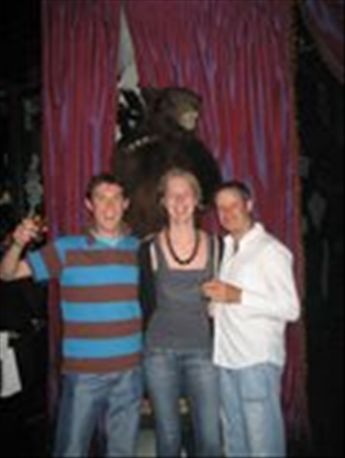 Me, Mel, Timmy and the Wounded Bear at the Mansion Nightclub in Miami.