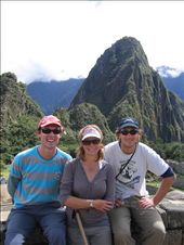 Some of our very best work - we climbed Wayna Picchu in the background which was harder than the Inca Trail.: by aptyson, Views[152]