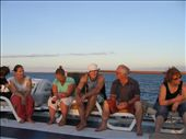 Kano explaining the diverse ecology of the Galapagos Islands to various punters.: by aptyson, Views[205]