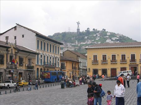 This is Quito - just for a second I thought I was back in Lima!