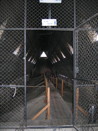 Inside the Basillica, an OHAS no-go zone.