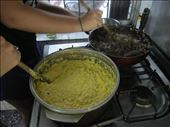 The corn paste (front) and the pino meat mixture (behind): by ardentariana, Views[197]