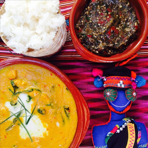 Cambodian Laos feast